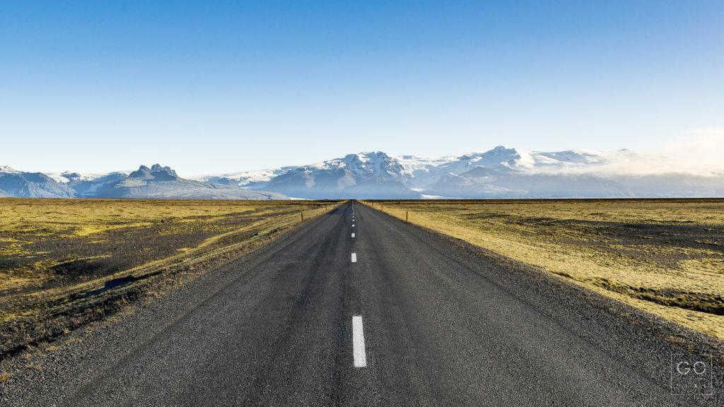 Road to Skaftafell