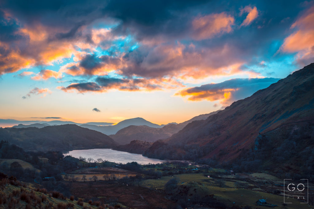 Blue hour in Snowdonia