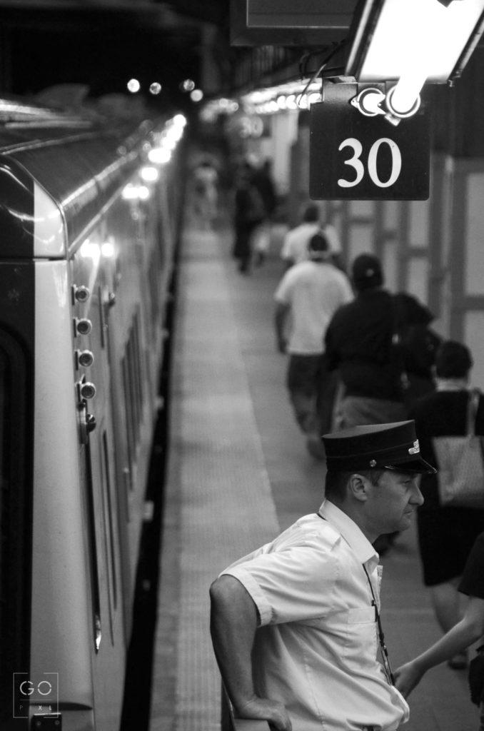 Ticket Man at Track 30
