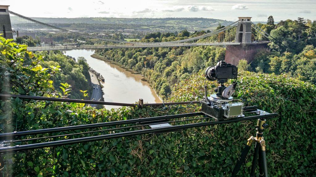 Time-lapse Slider at the Suspension Bridge