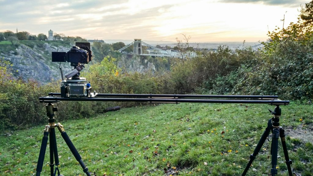 Time-lapse Slider in Leigh Wood