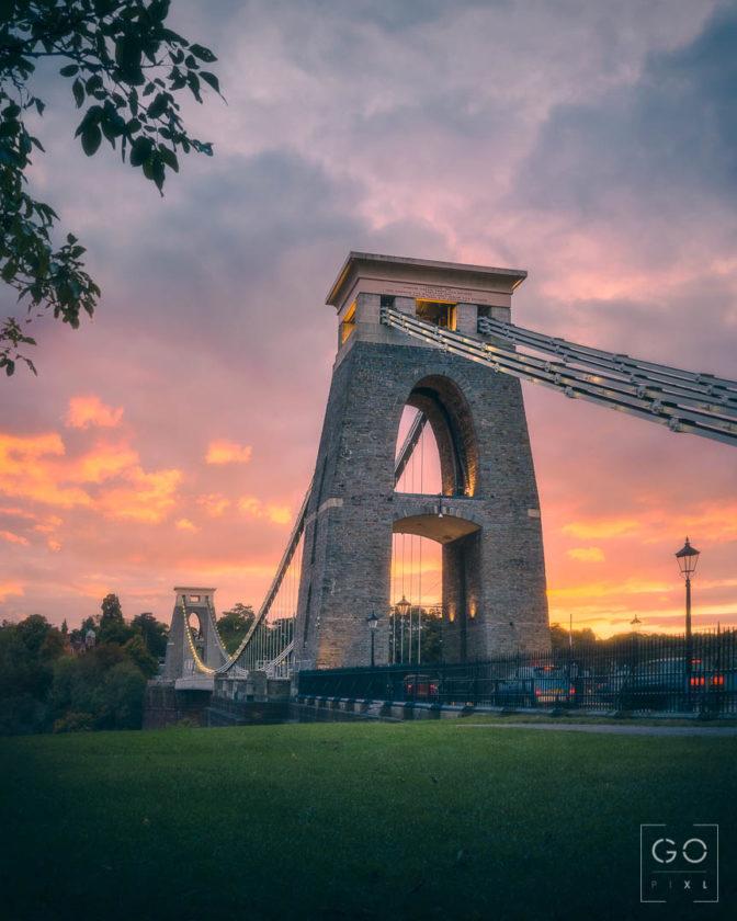 Autumn Sunset at the Bridge